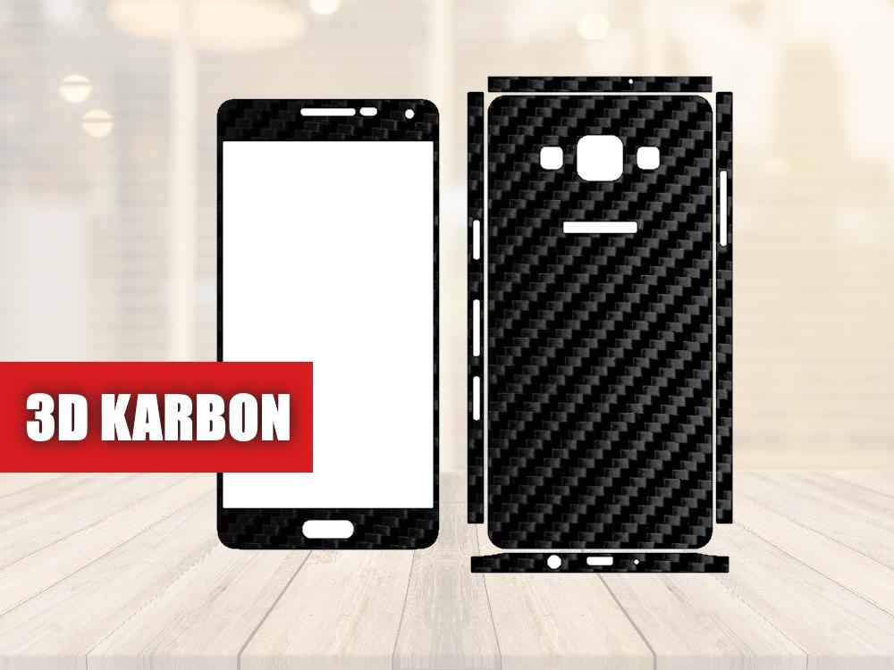 Skiny pro SAMSUNG - Samsung Galaxy A5 (a500)- Skin samolepka - 3D Karbon - Ochranná fólie