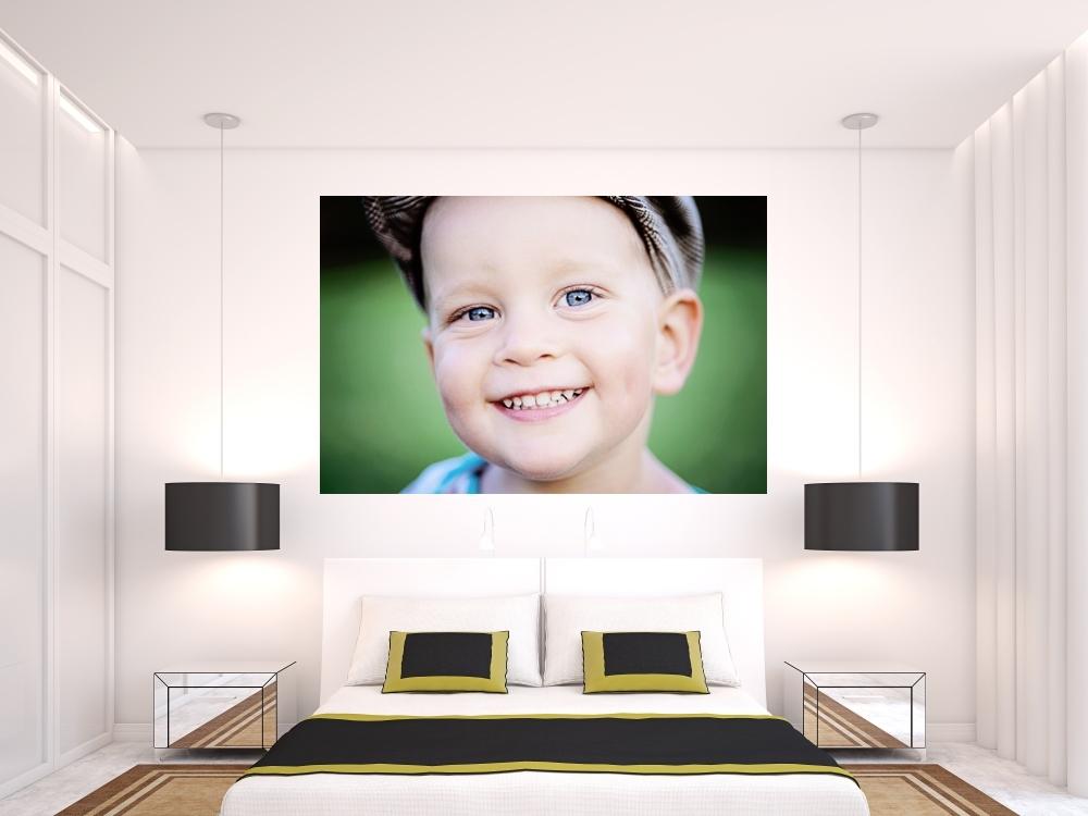 Barevné samolepky - Barevná vinylová samolepka na zeď z fotografie - plná bez ořezu