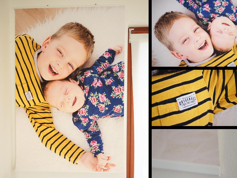 Plakáty na zeď - Plakát z vlastní fotografie - luxusní koutovaný foto papír 180g/m2 včetně lišt a háčků