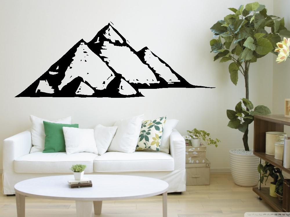 Samolepky na zeď - Pyramidy - Samolepka na zeď