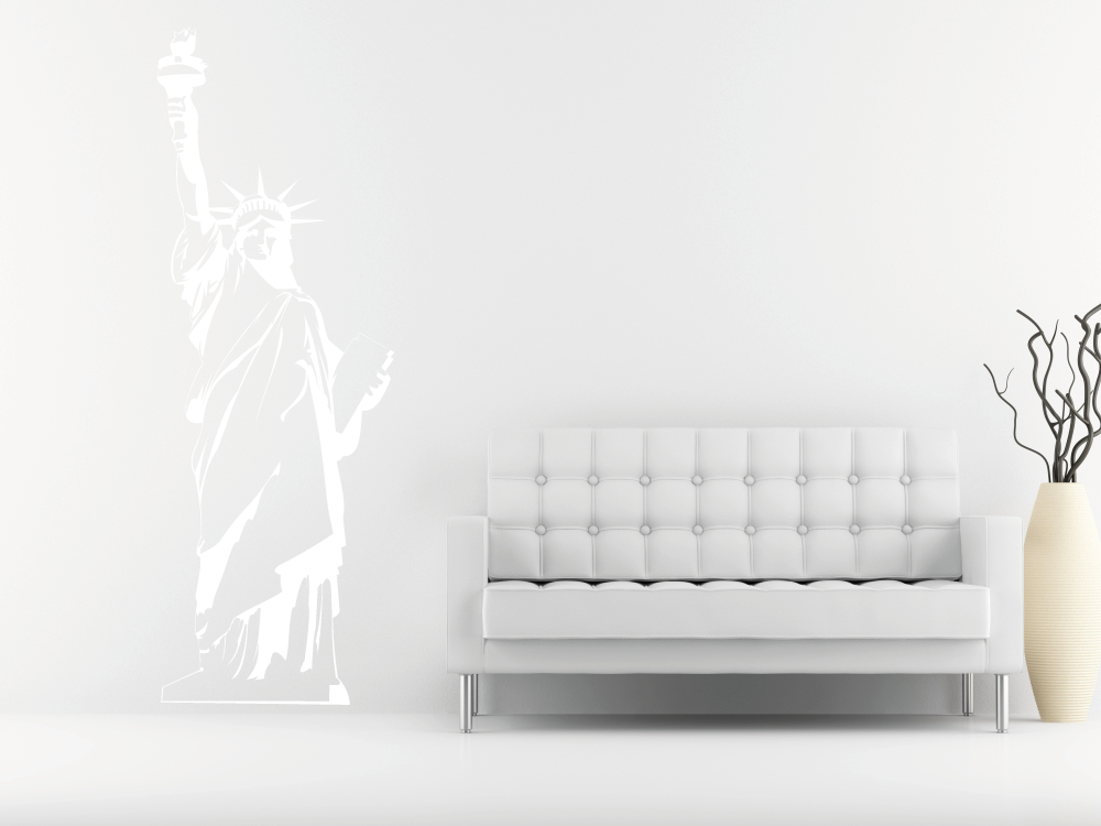 Samolepky na zeď - Socha Svobody - Samolepka na zeď