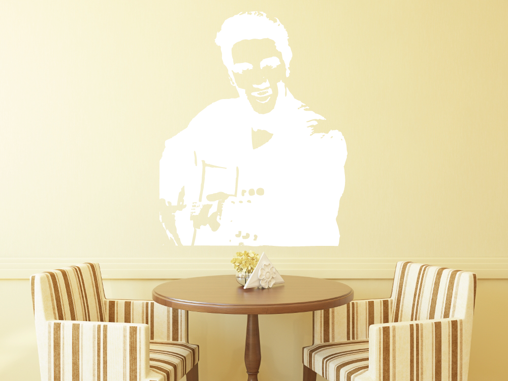 Samolepky na zeď - Elvis Presley - Samolepka na zeď