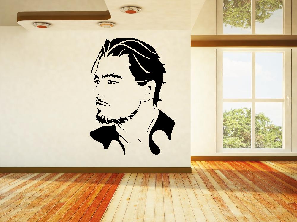 Samolepky na zeď - Leonardo DiCaprio - Samolepka na zeď