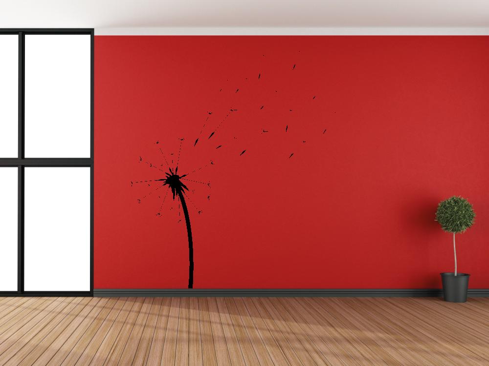 Samolepky na zeď - Pampeliška - Samolepka na zeď