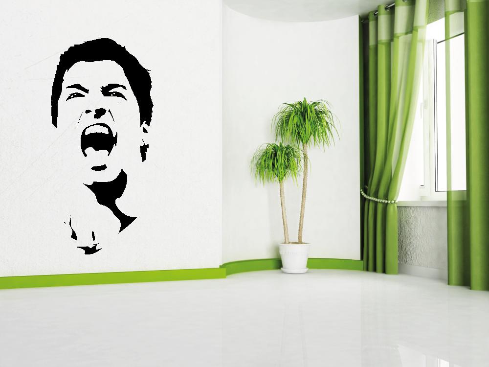 Samolepky na zeď - Luis Suárez FC Barcelona - Samolepka na zeď