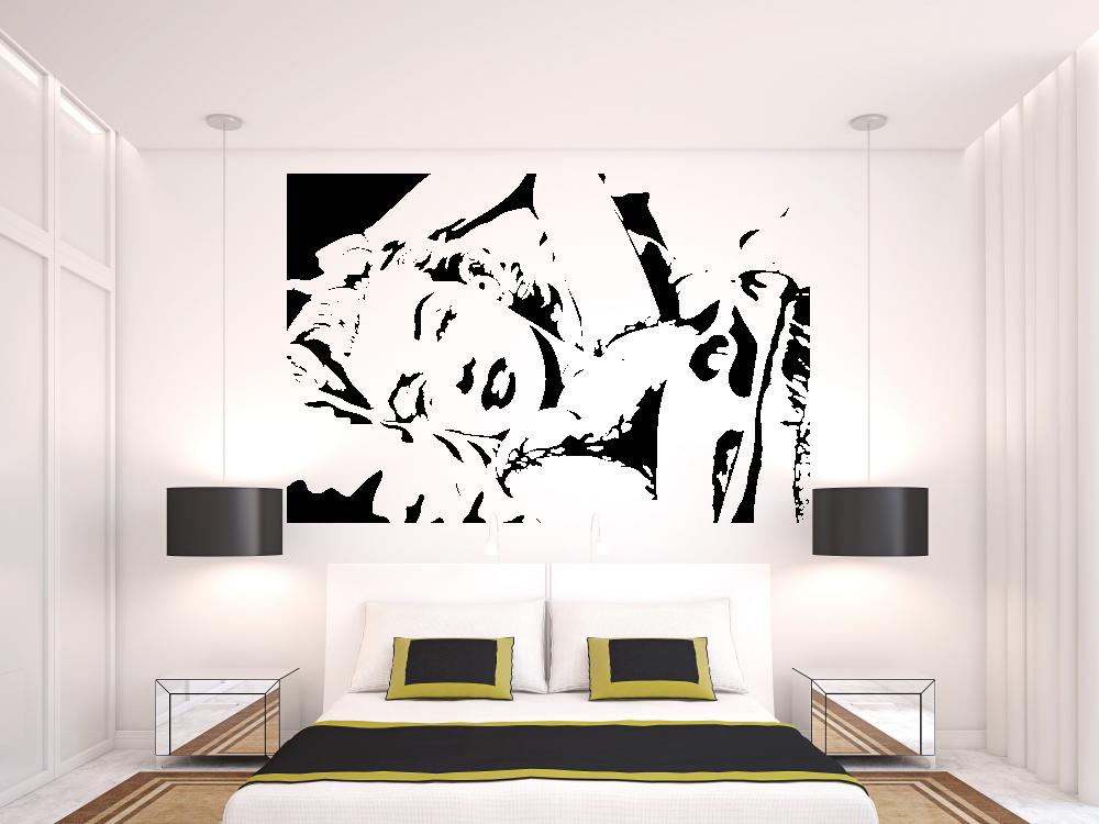 Samolepky na zeď - Marilyn Monroe - Samolepka na zeď