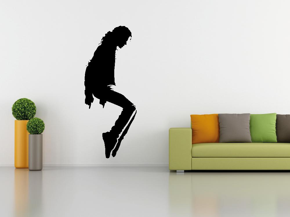 Samolepky na zeď - Michael Jackson na špičkách - Samolepka na zeď