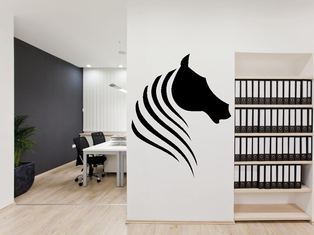 Samolepky na zeď - Kůň abstrakt - Samolepka na zeď