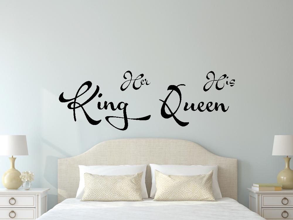 Samolepky na zeď - King and Queen - Samolepka na zeď