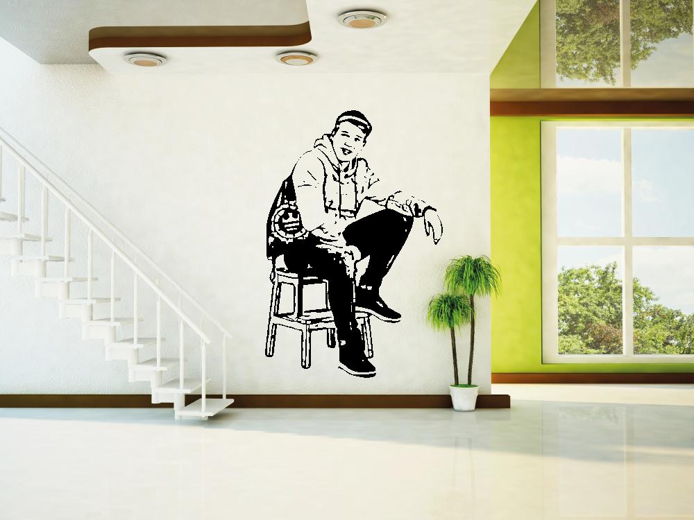 Samolepky na zeď - Jirka Král FREE - Samolepka na zeď