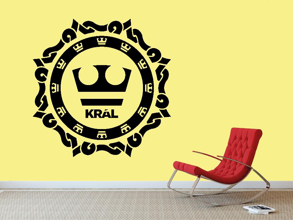 Samolepky na zeď - Jirka Král LOGO - Samolepka na zeď